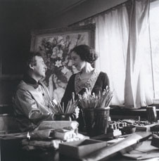 Chagall and Bella, August 1934