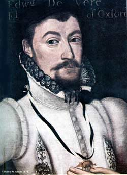 the life and works of edward de vere De vere came into his earldom early, after his father's unexpected death, and  spent his childhood as a ward of queen elizabeth's chief minister,.